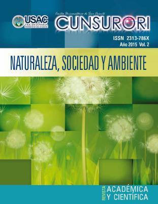 Ver Vol. 2 Núm. 1 (2015): Revista Naturaleza, Sociedad y Ambiente