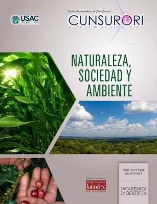 Ver Vol. 5 Núm. 1 (2018): Revista Naturaleza, Sociedad y Ambiente